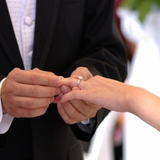 Exchange of the Rings in a Wedding