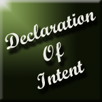 declaration of intent wedding element